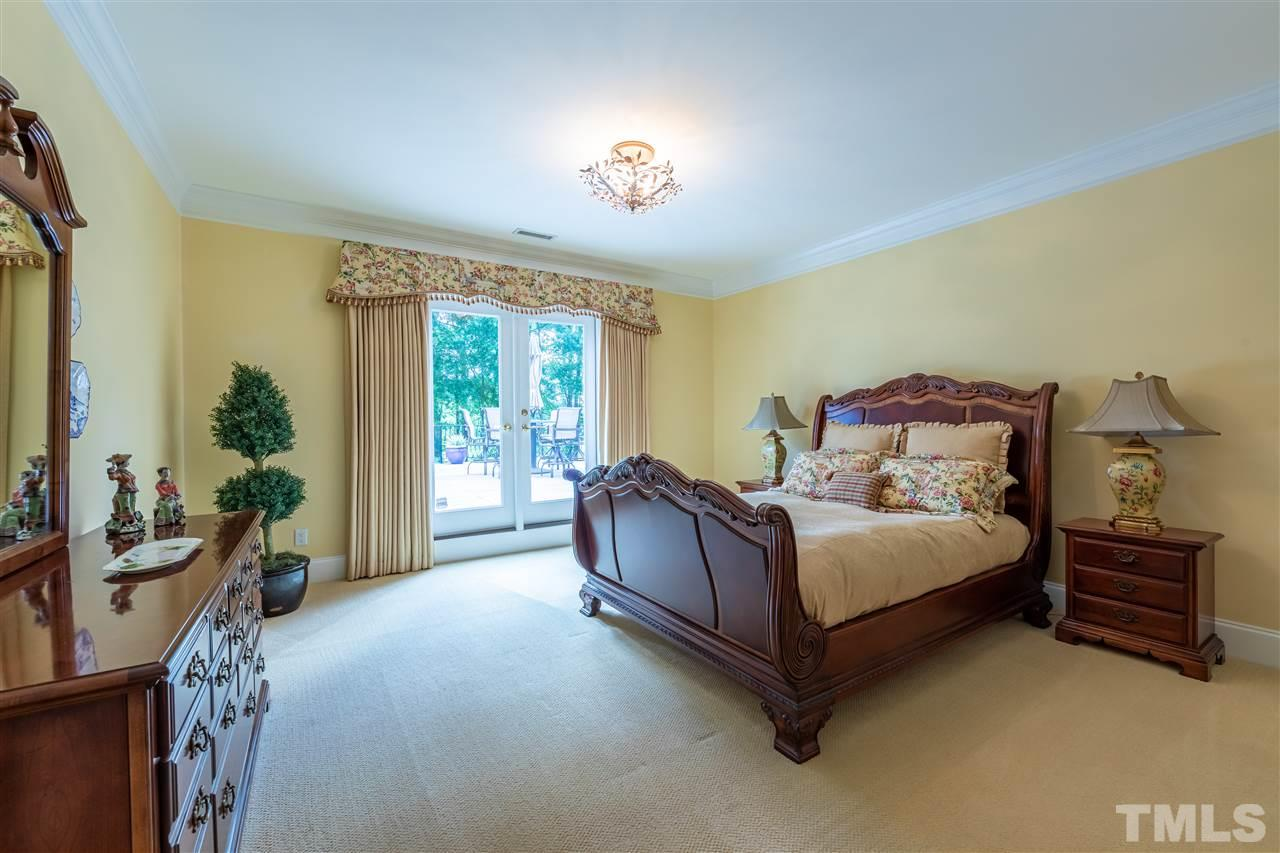 This Secondary Bedroom features Private Access to Upper Terrace.