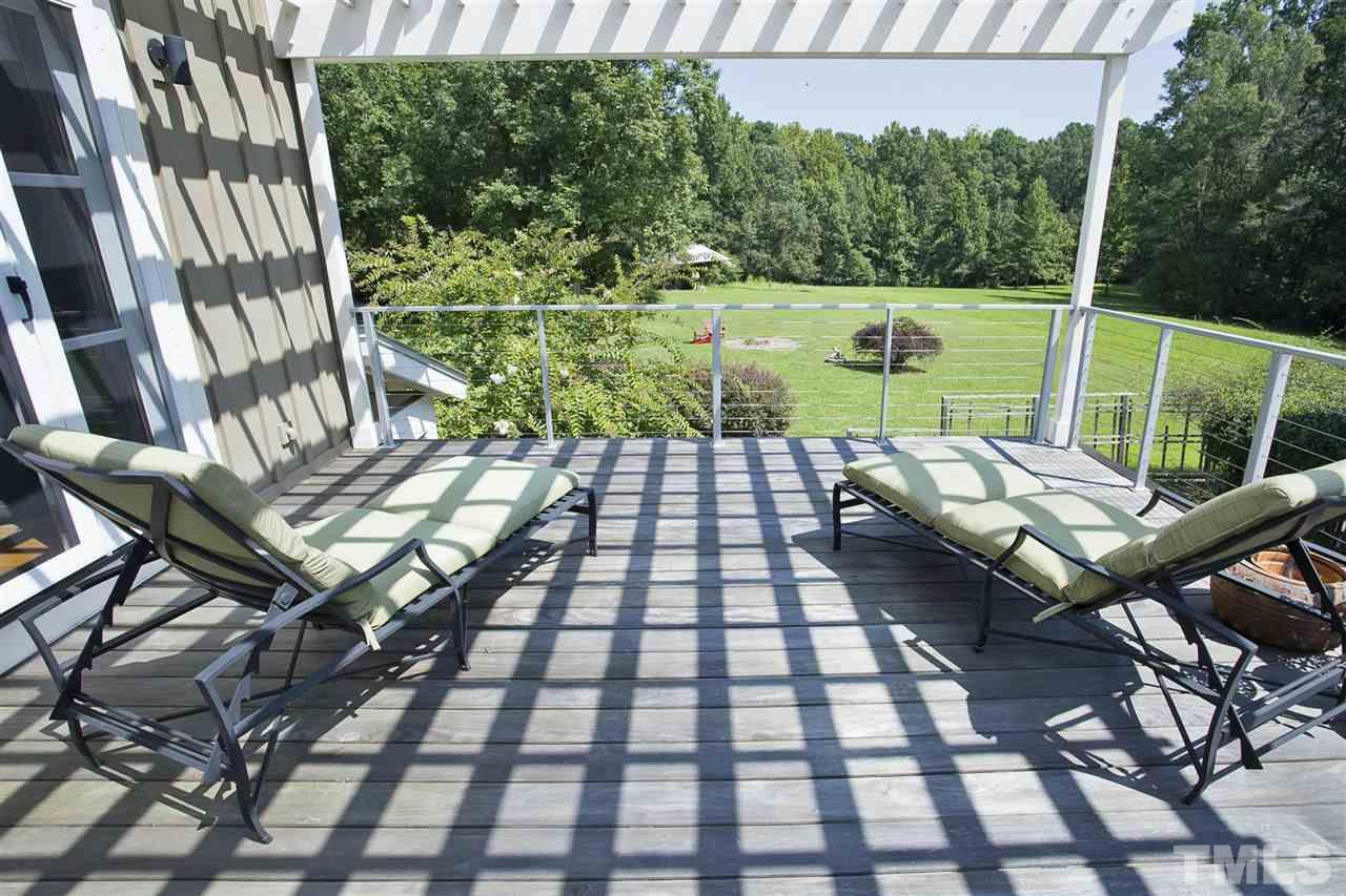 No master bedroom would be complete without a Trex floored deck from which to view the grounds!