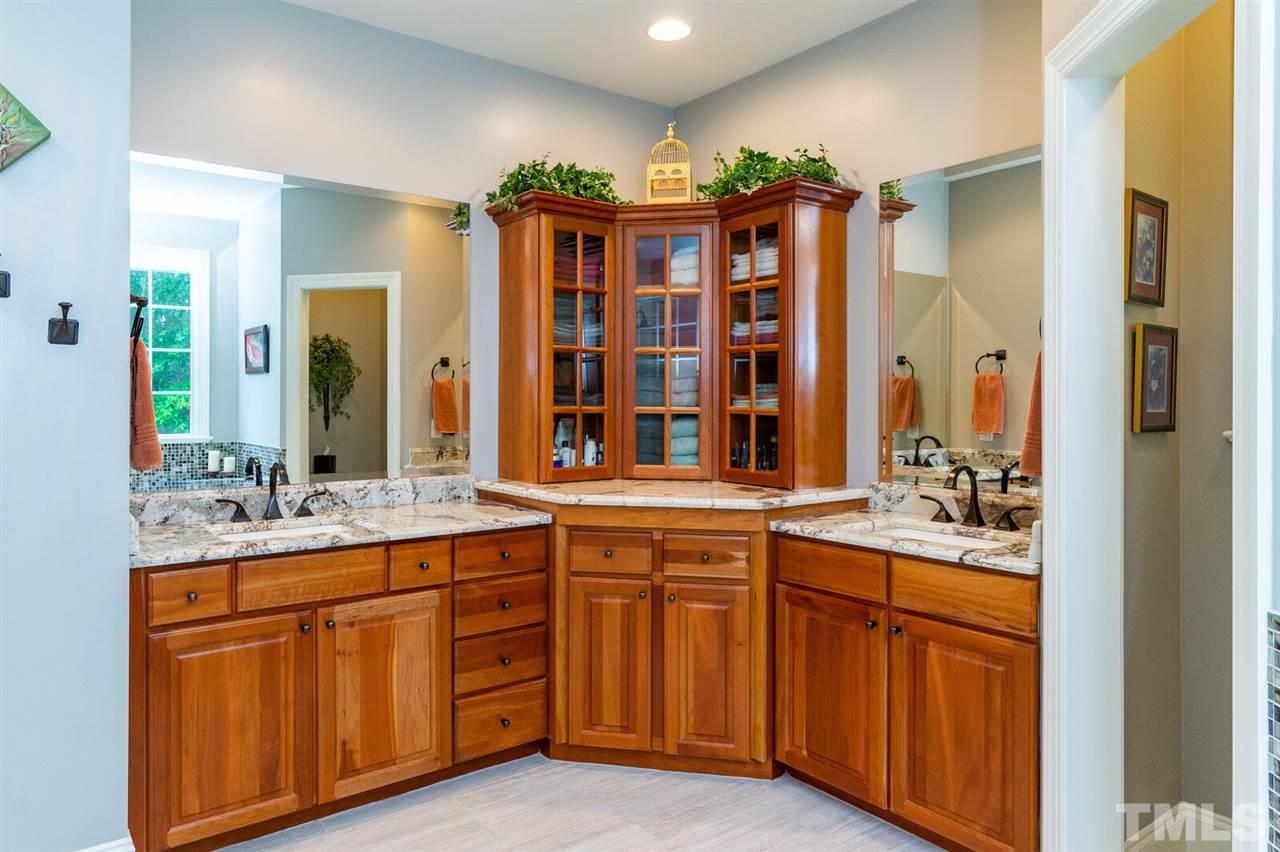 Beautiful double Vanity Cabinetry,  high end furniture. Tons of storage.