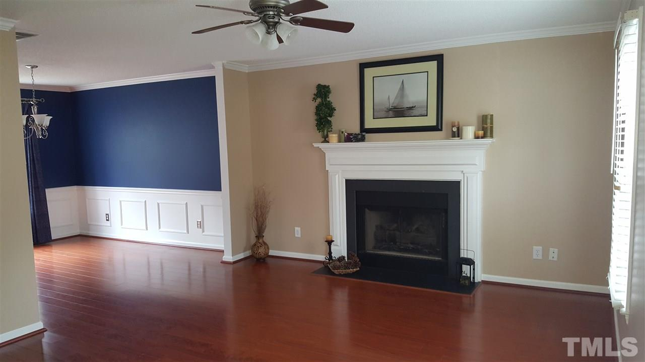 Beautiful Cherry Hardwoods and Gas Fireplace makes this Room Perfect for Gatherings with Family & Friends...