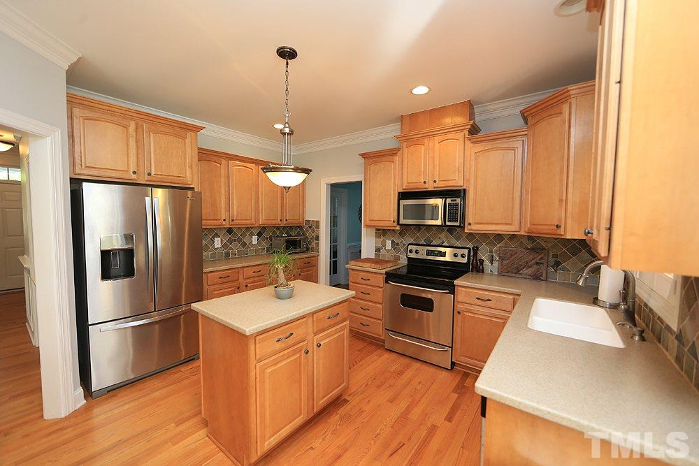 Solid surface countertops, room enough for two cooks!