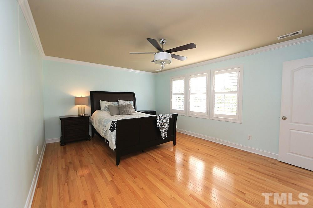 Large enough to accommodate lots of bedroom furniture.