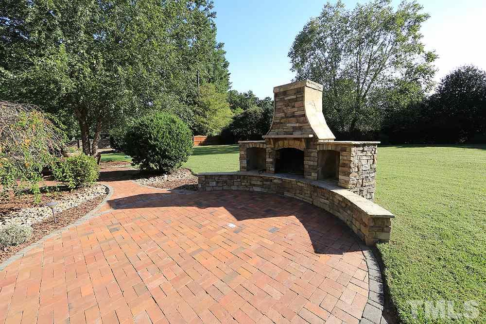 Lovely stone fireplace to enjoy on cool evenings!