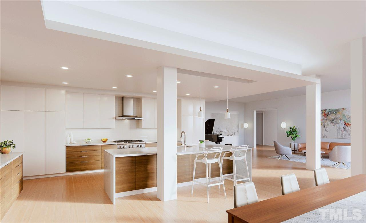 Multiple standard and upgrade selections to choose from including walnut cabinetry, quartz counters, and flooring options