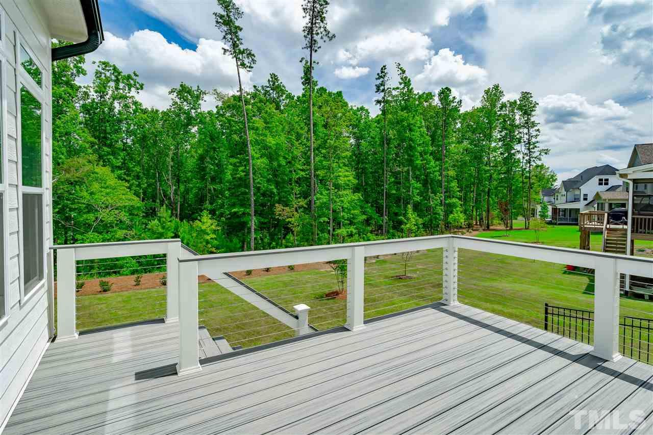 Trex deck with custom cable wire and priceless view!