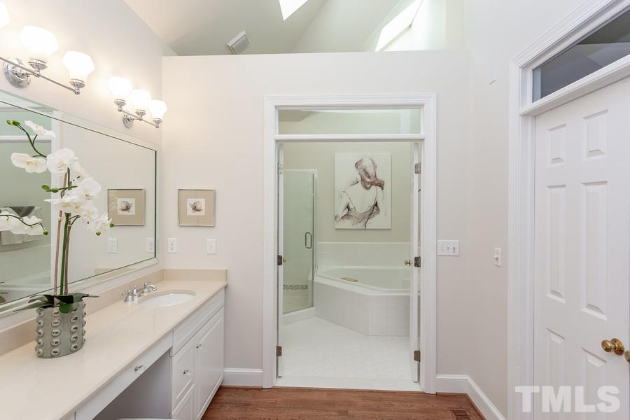Bright, open, and spacious plus a large walk in master closet.