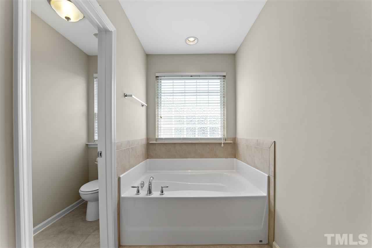 Master Tub and separate water closet