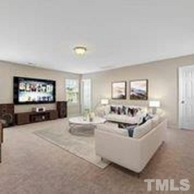 You can access the bonus room from the back stairs or a door through the master.  This room is huge and has a large walk in closet and full bathroom.  It could be a 5th bedroom/guest suite.
