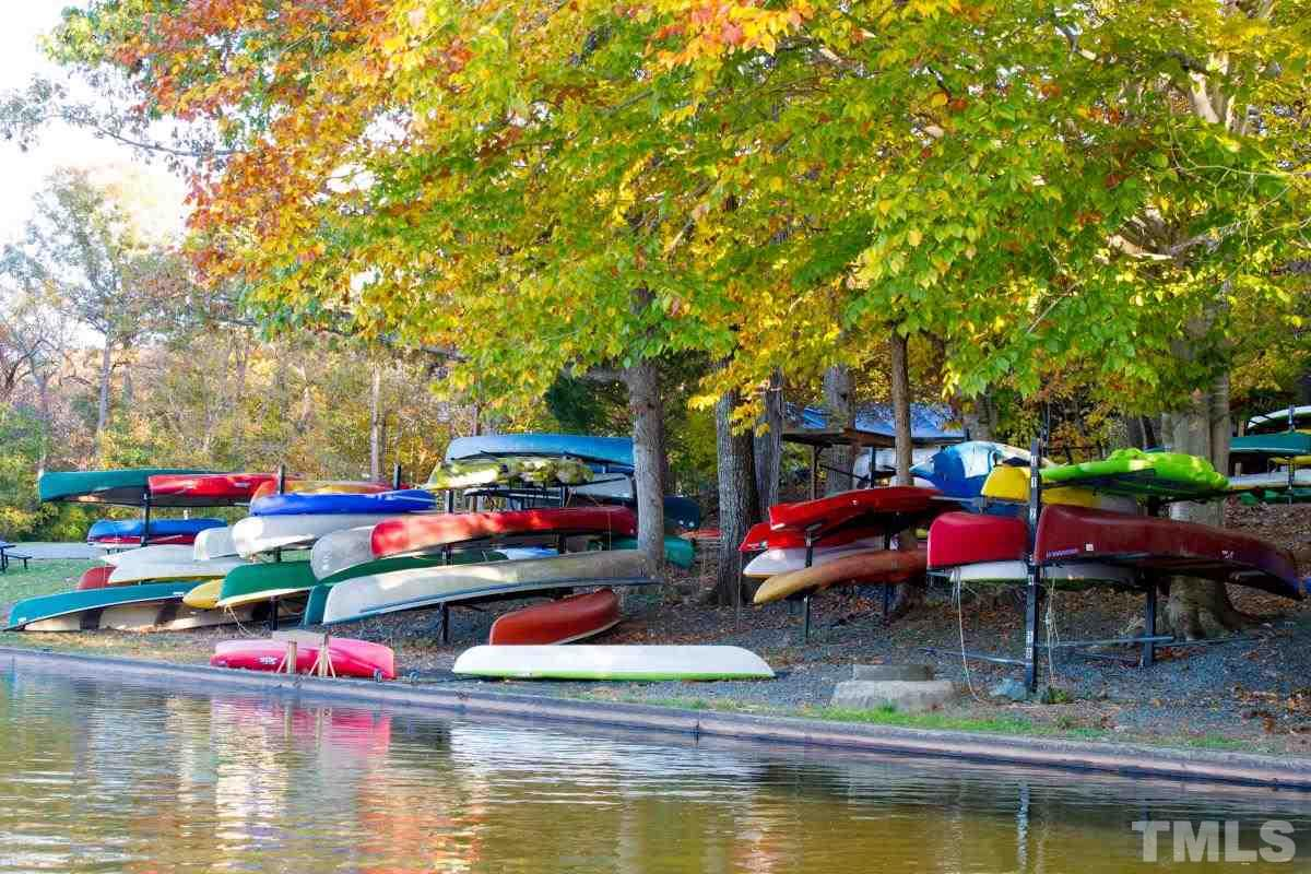 Canoes at Eastwood Lake.  Photo credit Alicia Stemper