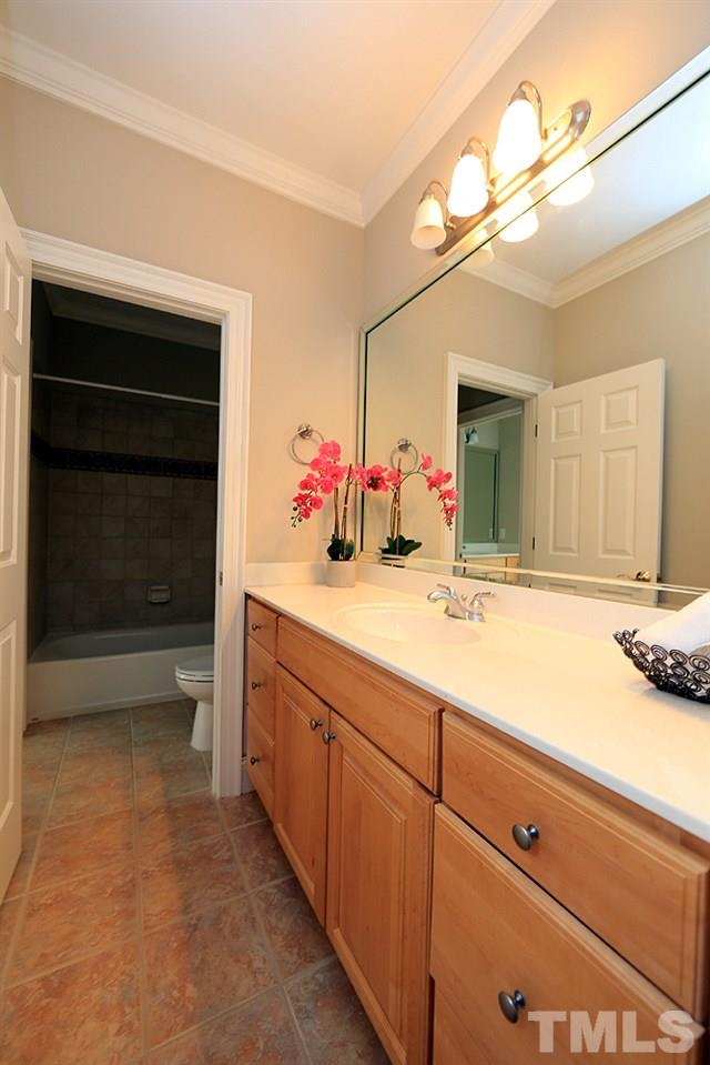 Relax, rejuvenate, refresh in this spa-like master bathroom.  There are two large walk-in closets with wood shelving-one at each end of the bathroom.