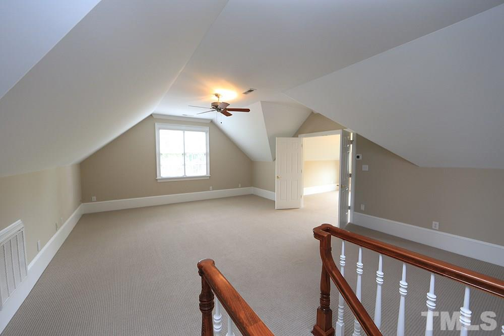 All of the second floor bedrooms are large and have great closet space.  Two bedrooms share a bath.  Another bedroom has access to the bath along with access from the hall.  The other bedroom has a private bathroom.  New carpet and fresh paint throughout.