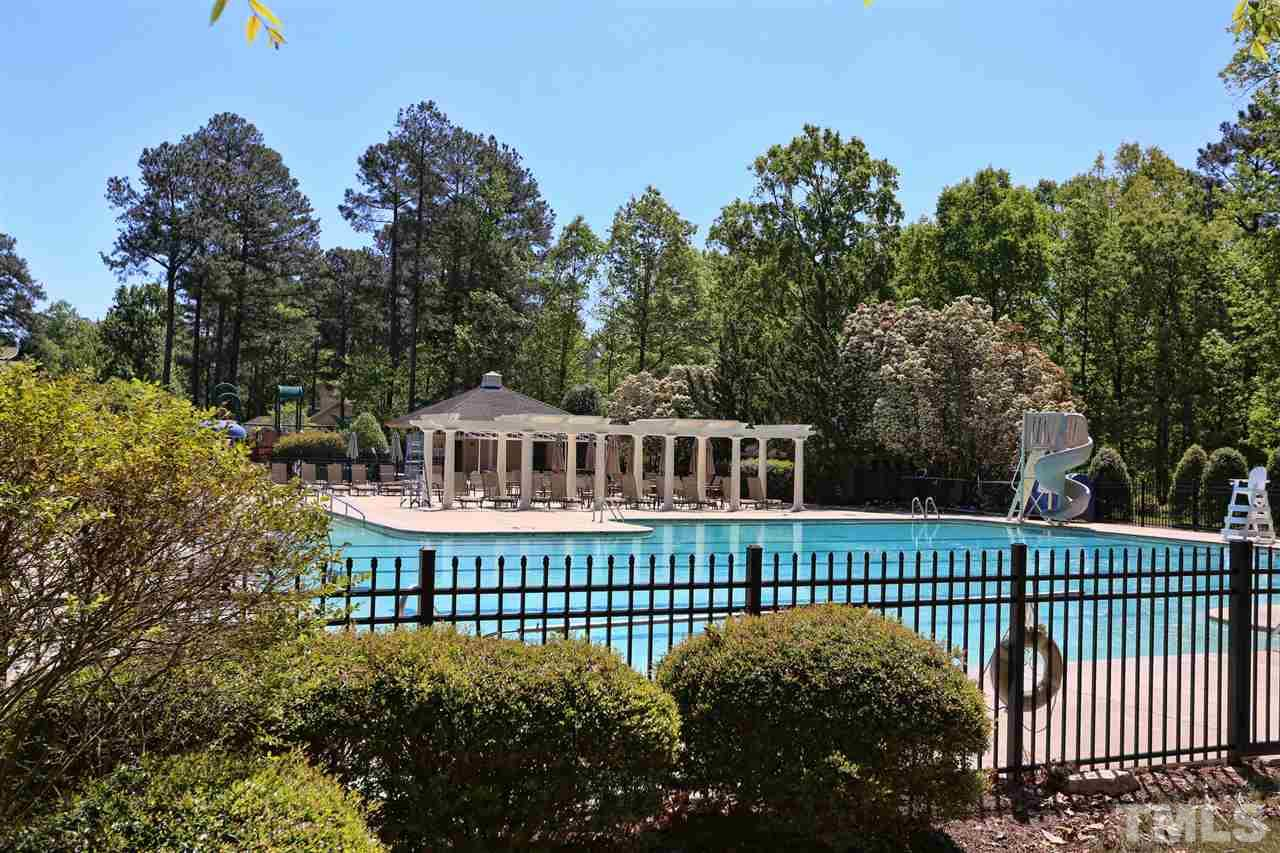 Governors Club offers an outdoor and indoor swimming pool just a short stroll away from your front door. Eat at the grill, take a fitness class, or swim inside when the weather doesn't cooperate. Call listing agent for details about membership.