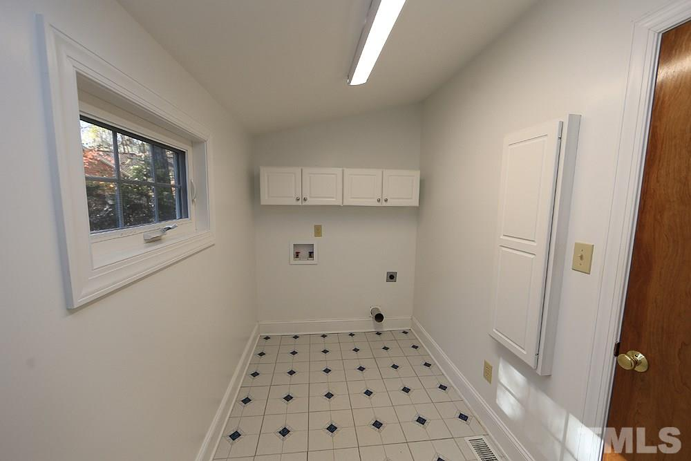 Convenient 1st Floor Laundry Room.
