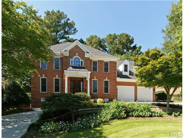 Stately Two Car Garage 92049vs: 291 Hogans Valley Way, Cary, NC