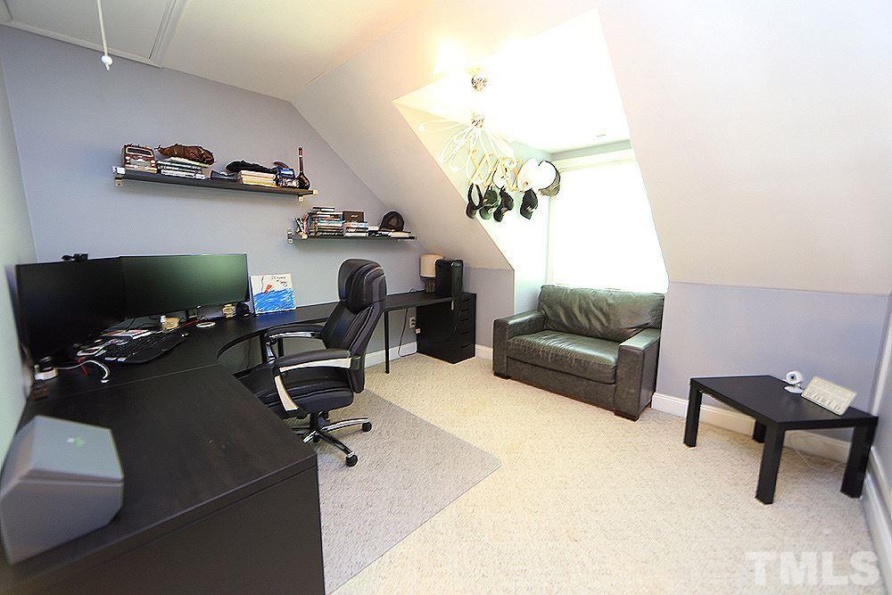 Second Floor Office Space, Carpet, Lighting, Window.