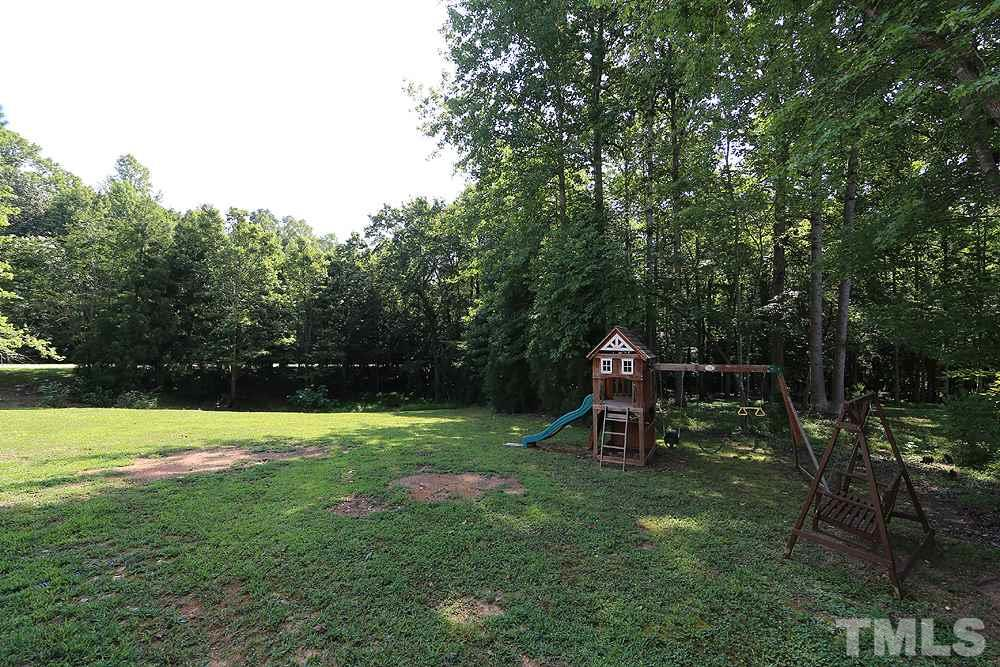 Gorgeous, Open Back Yard w/Grass Lawn, Play Equipment, Trees.