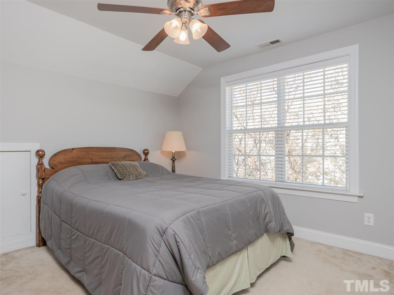 Three bedrooms on main level.  4th BR & full bath up. Be sure to look for the door to the large unfinished storage area.