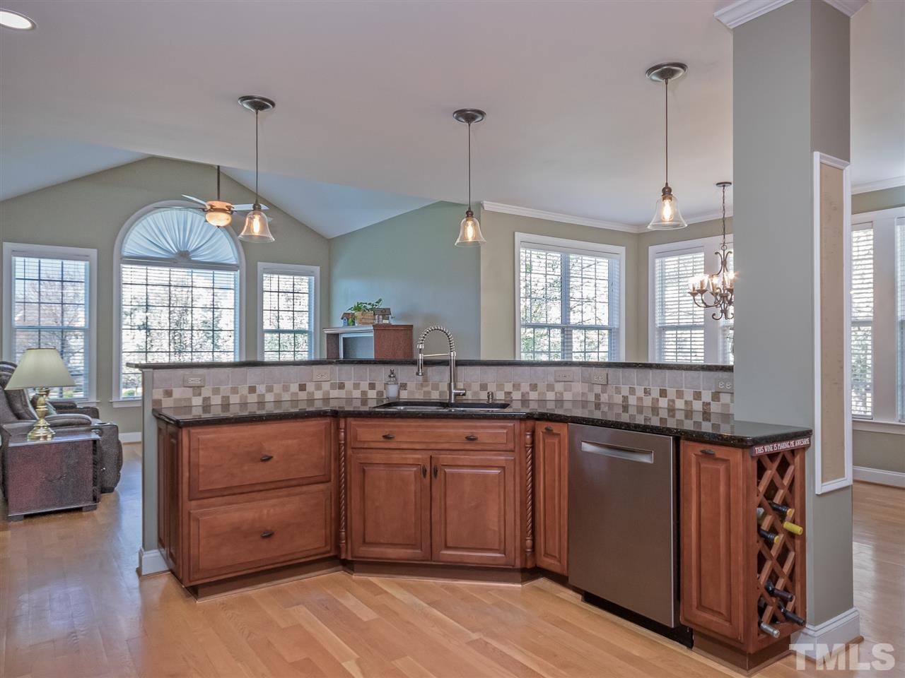 WOW!!  Central kitchen open to keeping room/den and sunny breakfast room.