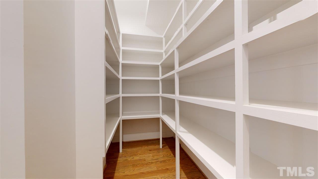 The walk in pantry is HUGE!