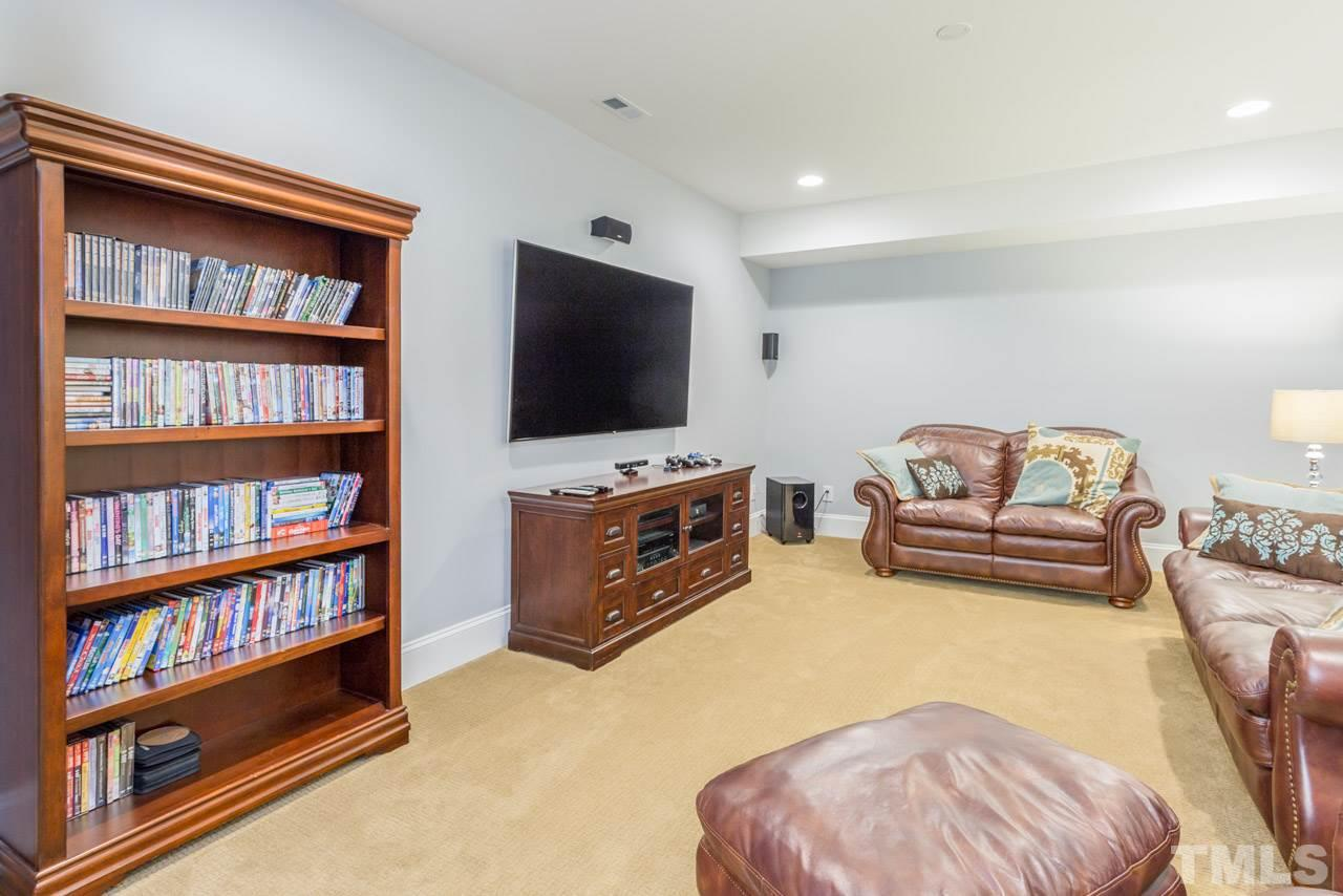 Enormous game/entertainment space with wet bar