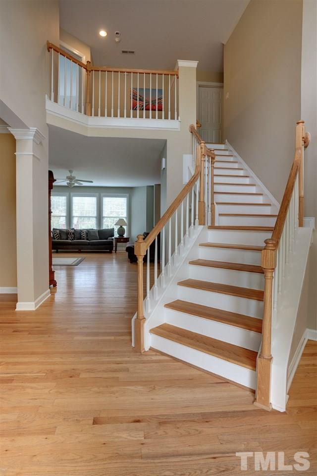 Enter the 2 story foyer and take in the spacious and functional floor plan.