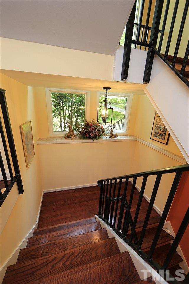 Stairwell to basement