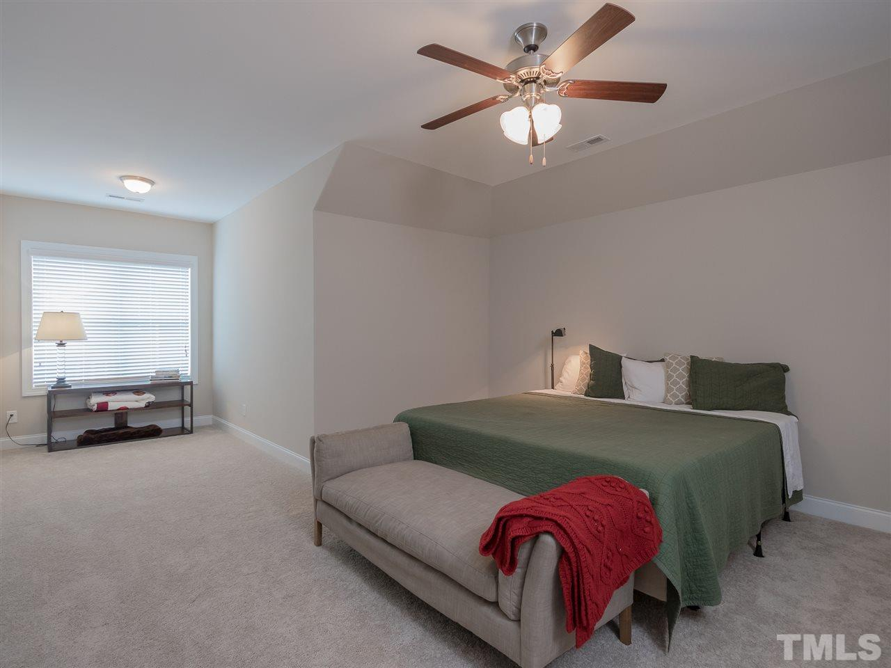 Multi purpose room. Forth bedroom, bonus or media room. This room has access to a full bath and walk in storage.