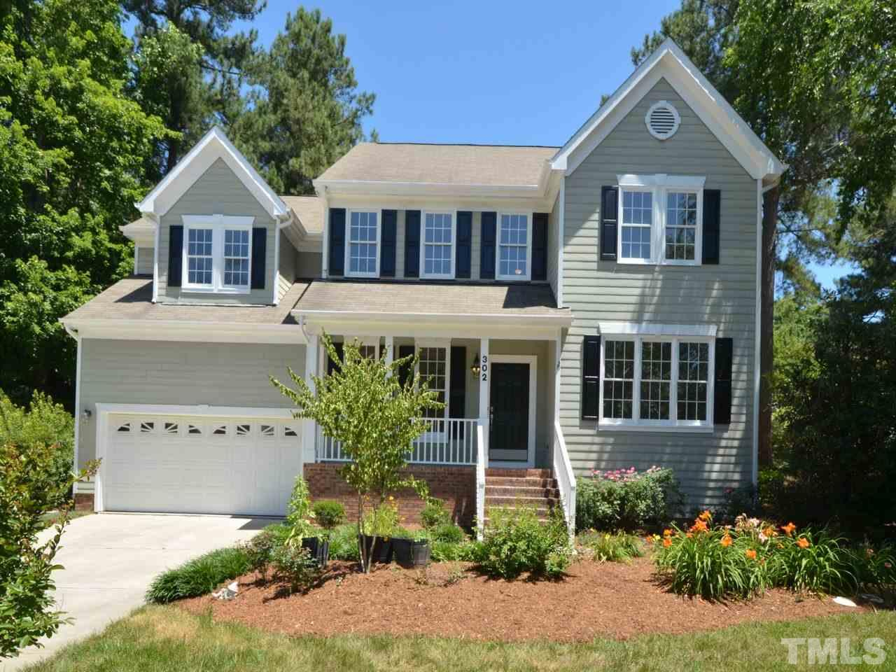 302 Halls Mill Drive Cary Nc Fonville Morisey Real Estate