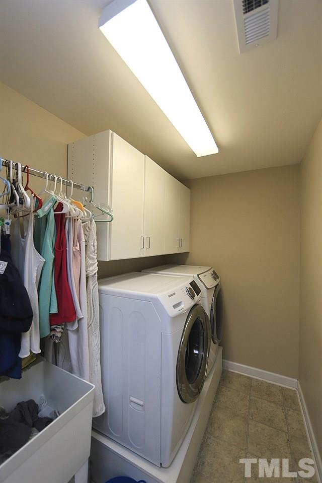 Upstairs Laundry with utility SINK
