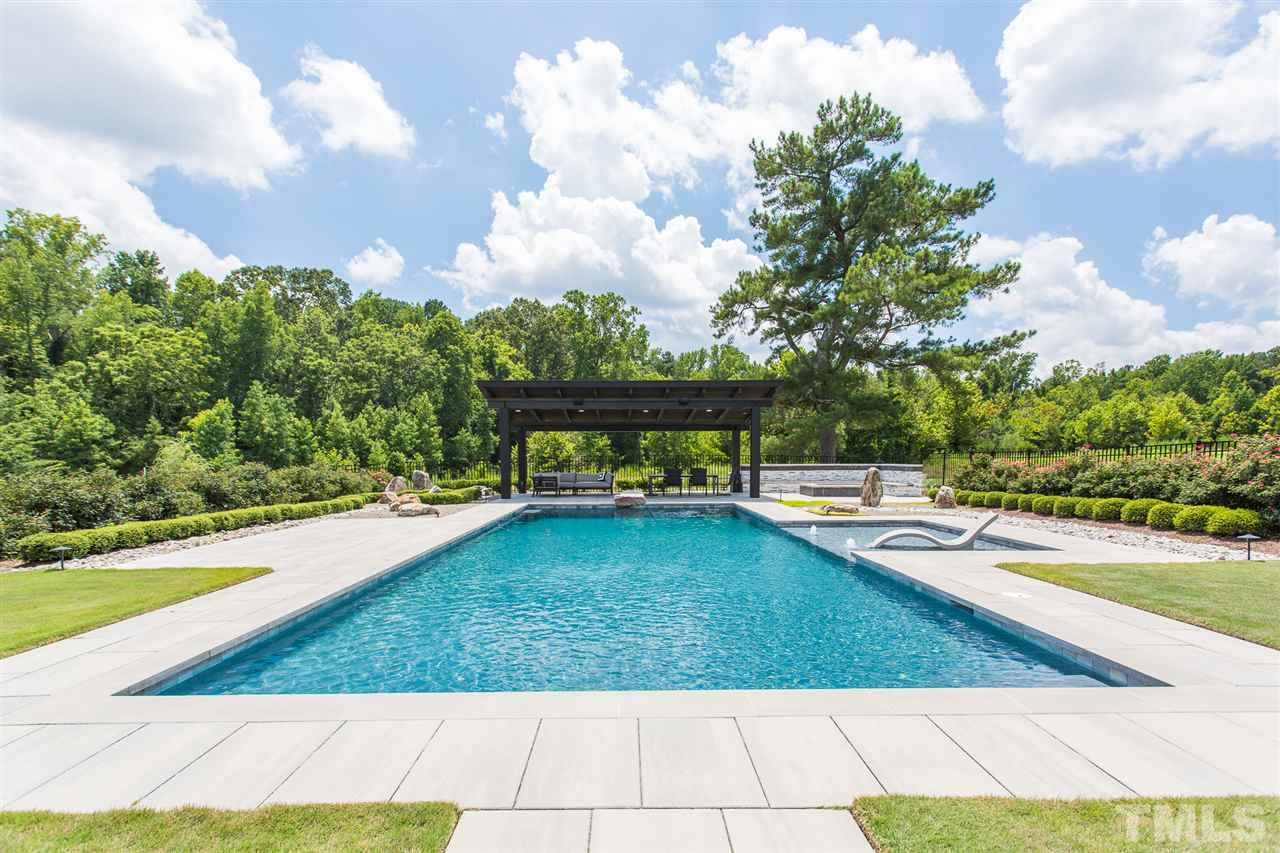 Your backyard will be your respite as you relax in the 20ft x 50 ft salt water pool expertly installed by Backyard Oasis Pools. A tremendous amount of planning went into its design
