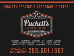 Puckett's Handyman Services in Vestavia, Alabama