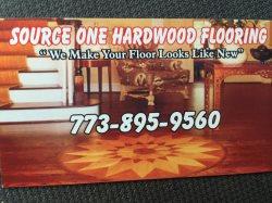 Source One Hardwood Flooring Logo