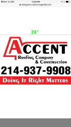 Accent Roofing Company & Construction in Arlington, Texas