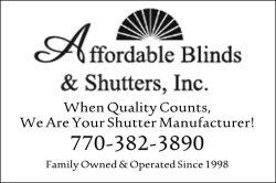 Affordable Blinds Shutters Inc In Cartersville Georgia