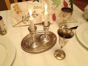 Shabbat-candles