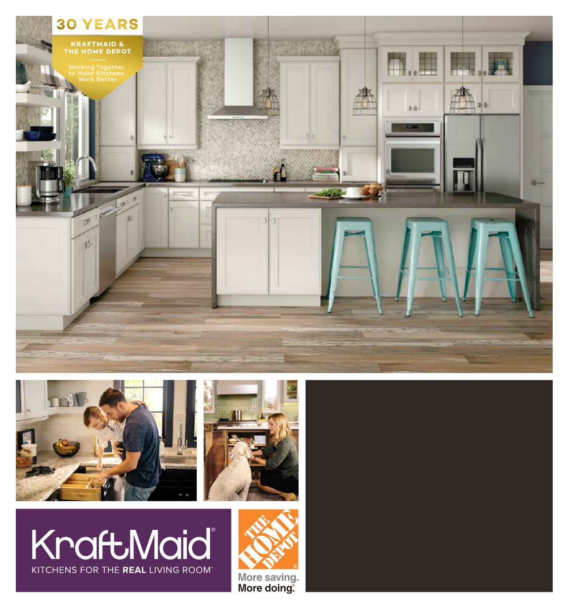 2016 KraftMaid Brochure   The Home Depot   Page 1