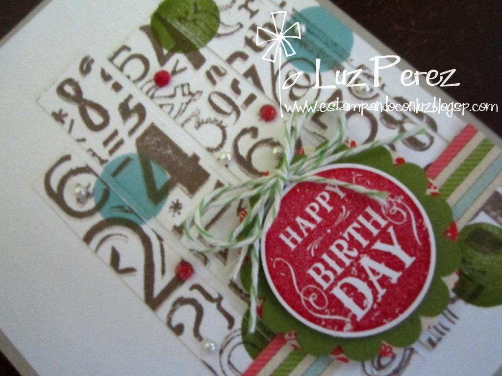Tarjeta Happy BirthDay #4