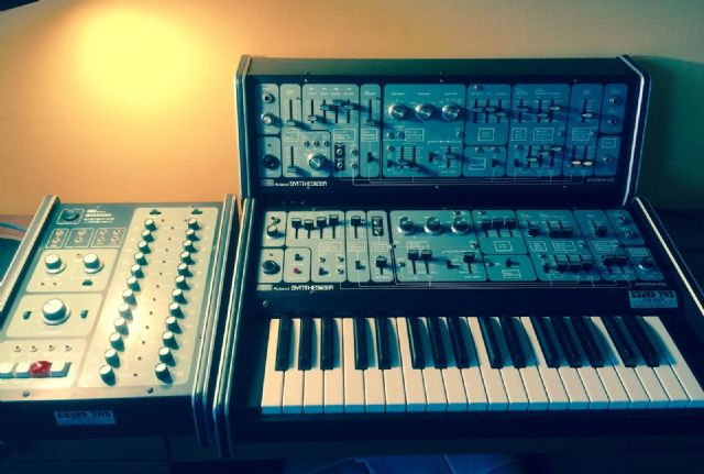 Roland System 100 Synthesiser