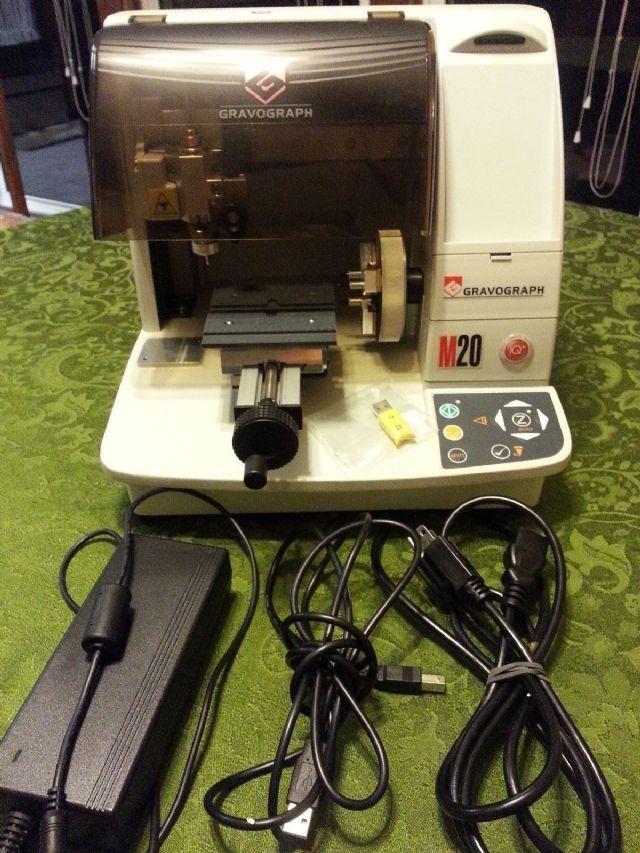 Gravograph M20 Jewel Engraver machine