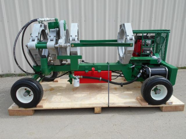 McElroy #618 HDPE Pipe Fusion Machine Poly Welder,