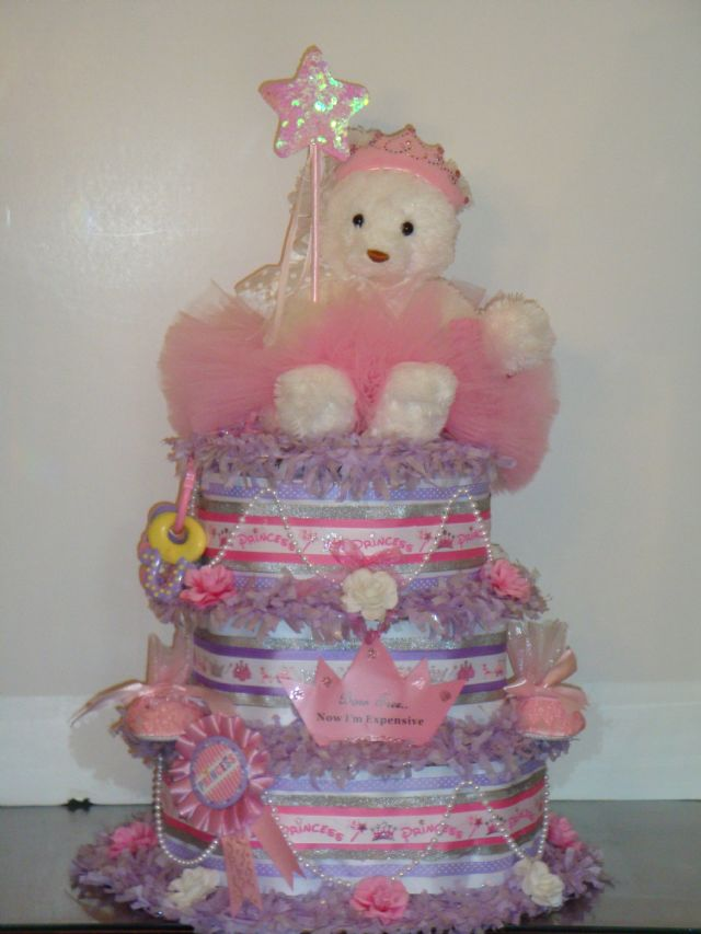 Tutu Angel Diaper Cake Ideas And Designs