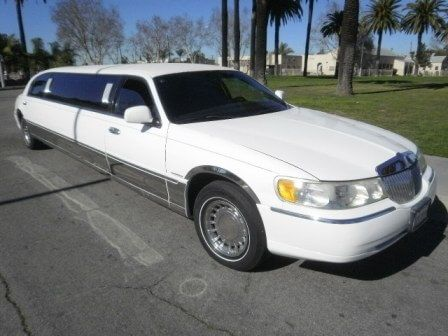 2000 Lincoln Town Car 100 Inch Stretch Limo 839 Los Angeles