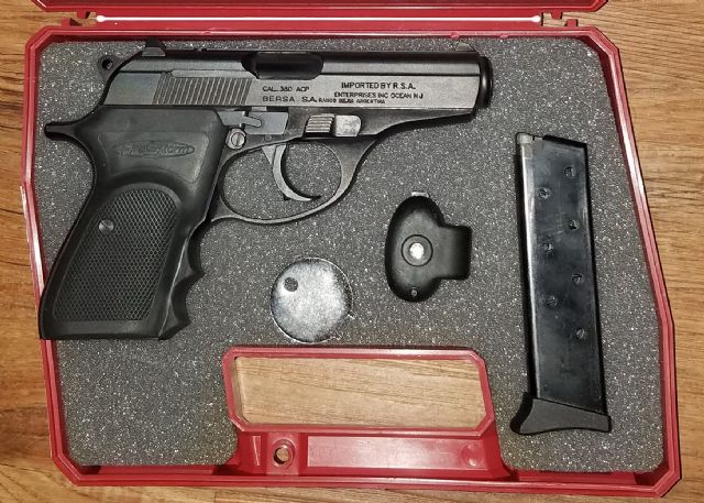 Bersa Firestorm 380acp Los Angeles California Firearms For Sale