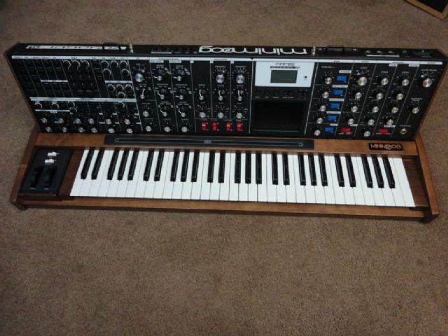 Moog Voyager XL keyboard LOS ANGELES CALIFORNIA Musical Instruments