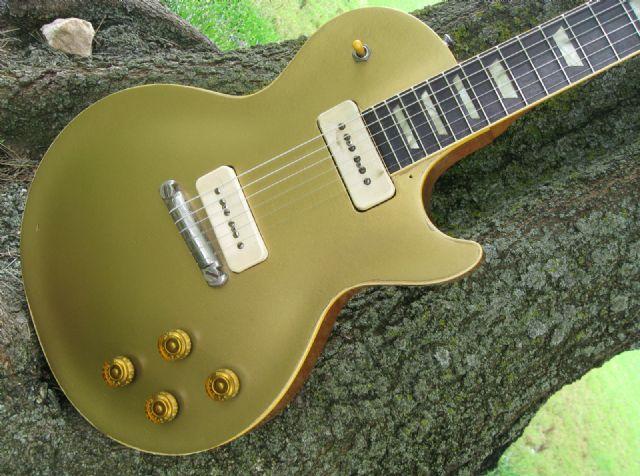 3dde87ff0ae28b 1955 Gibson Les Paul Gold Top Guitar With Original LOS ANGELES ...