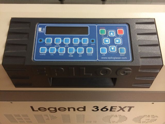 2013 Epilog Laser Legend 36ext - 60W with extras LOS ANGELES
