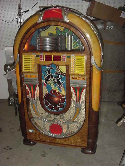 Wurlitzer Model 850 Jukebox LOS ANGELES CALIFORNIA Tools For Sale
