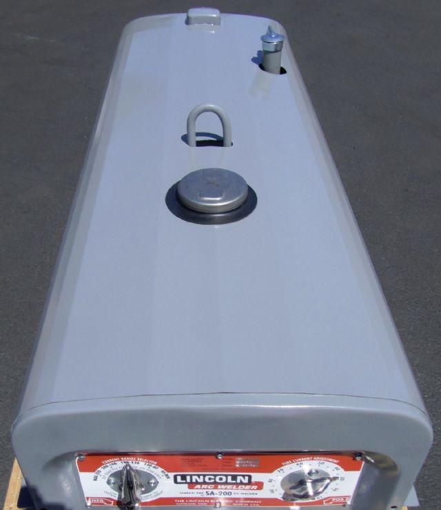 1968 Lincoln SA-200 Redface Pipeline Welder LOS ANGELES
