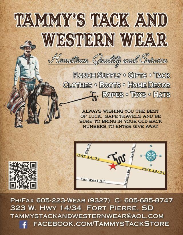 Tammy S Tack Amp Western Wear Fort Pierre Sd