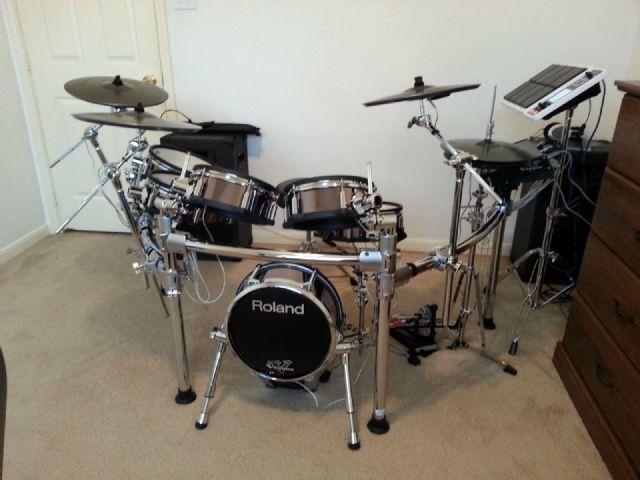 Roland TD-30KV V-Drums with SPD-30 Octapad HOUSTON TEXAS